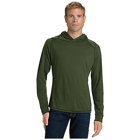 Free Shipping. Nau Men's M2 Hoody DECENT FEATURES of the Nau Men's M2 Hoody Soft 18 micron merino wool jersey Pullover hoody Cross over hood/neck detail The SPECS 100% merino wool 165 gram M2 jersey 18 micron fiber ZQUE certified sustainably sourced Machine washable - $149.95