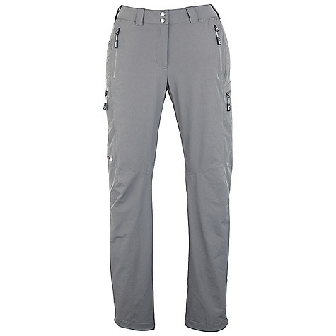 Free Shipping. Rab Women's Sawtooth Pants DECENT FEATURES of the Rab Women's Sawtooth Pants Matrix DWS fabric Tricot lined waistband Snap waistband closure Belt loops YKK fly zip 2 YKK zipped hip pockets 2 YKK zipped thigh pockets Articulated knees Hem drawcord Reinforced kick patches Fit: Regular The SPECS Inside Leg Length: 32in. / 81 cm Weight: 182g/m2 Comp: 90% nylon 66 / 10% spandex Total Weight: 12 oz / 340g This product can only be shipped within the United States. Please don't hate us. - $140.00