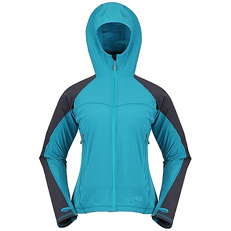 Free Shipping. Rab Women's Solar Jacket DECENT FEATURES of the Rab Women's Solar Jacket Matrix SWS fabric Matrix DWS in shoulder and upper sleeve Polygiene Stay fresh odour control treatment Under helmet hood YKK front zip, internal storm flap, chin guard 2 YKK zipped A-line handwarmer pockets Thumb loops Fit: Slim The SPECS Main Weight: 131g/m2 Main Comp: 86% polyester / 14% Spandex Shoulder Weight: 182g/m2 Shoulder Comp: 90% nylon 66 / 10% spandex Total Weight: 9 oz / 265 g (estimate) This product can only be shipped within the United States. Please don't hate us. - $100.00