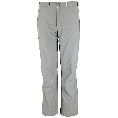 Free Shipping. Rab Men's Vertex Pant DECENT FEATURES of the Rab Men's Vertex Pant Matrix SWS fabric 2 YKK zipped hand warmer pockets 1 YKK zipped thigh pocket Double snap waist closure Belt loops Knee articulation Hem drawcord Different leg lengths available Fit: Regular The SPECS Weight: 132g/m2 Comp: 93% nylon / 7% spandex Total Weight: 10 oz / 285 g (estimate) This product can only be shipped within the United States. Please don't hate us. - $90.00
