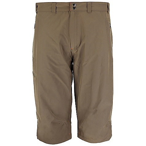 Free Shipping. Rab Men's Vertex Short DECENT FEATURES of the Rab Men's Vertex Short Matrix SWS fabric 2 YKK zipped hand warmer pockets 1 YKK zipped thigh pocket Double snap waist closure Belt loops Knee articulation Fit: Regular The SPECS Inside Leg Length: L: 14in. / 35 cm Weight: 132g/m2 Comp: 93% nylon / 7% spandex Total Weight: 7 oz / 210 g (estimate) This product can only be shipped within the United States. Please don't hate us. - $65.00