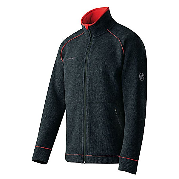Ski Mammut Tundra Mens Jacket - The Mammut Tundra Jacket is built to keep you warm and ensure that you look and feel good whether roaming around town in cool weather or just adding an extra layer when out skiing. The Tundra is made with a Pontetorto Tecnowool which helps keep you warm even as the temperatures start to dip. The two hand pockets are a great place to keep those fingers warm or a place you can store your car keys or high school mixed cassette tape if you just so happen to carry that around. The Mammut Tundra Jacket is an everyday jacket that will keep you warm and comfortable with enough to style make you want to walk a little taller. . Exterior Material: 41% Wool, 39% Polyester, 16% Polyamide, 4% Polyurethane, Insulation Weight: N/A, Taped Seams: None, Waterproof Rating: N/A, Breathability Rating: N/A, Warranty: Other, Battery Heated: No, Race: No, Type: Fleece, Jacket Fit: Regular, Length: Medium, Insulation Type: Fleece, Waterproof: Not Specified, Breathability: Not Specified, Waterproof Zippers: No, Wind Protection: No, Model Year: 2013, Product ID: 313545, Model Number: 1010-07690 0033 L, GTIN: 7613186459321 - $149.91