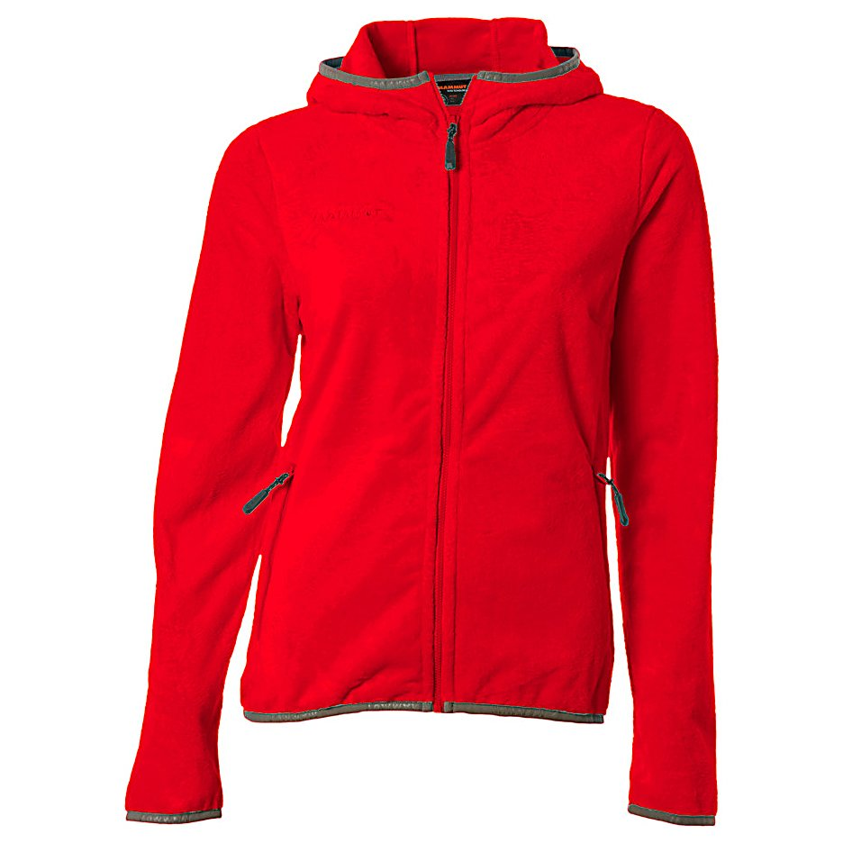 Ski The Mammut Loft Jacket is super cozy and you'll love snuggling up inside it on those chilly days.  Whether you are wearing this stylish jacket in the fall time or want some extra warmth while skiing, the Loft Jacket will help keep the heat inside so you can remain comfy all day.  It's an excellent midlayer when skiing and the soft and warm materials will feel dreamy against your skin.  You'll have two zippered pockets for your hands or maybe a phone and a close fitting hood to keep the wind from chilling you down.  Super comfy and cozy, you'll love the look and feel of the Mammut Loft Jacket.  2 x Hand Pockets with Zips,  Close Fitting Hood,  Exterior Material: 100% Polyester, Insulation Weight: N/A, Taped Seams: None, Waterproof Rating: N/A, Breathability Rating: N/A, Warranty: Other, Battery Heated: No, Race: No, Type: Fleece, Jacket Fit: Regular, Length: Medium, Insulation Type: Fleece, Waterproof: Not Specified, Breathability: Not Specified, Waterproof Zippers: No, Wind Protection: No, Warmth Factor: Slightly Warm, How Does This Fit?: True To Size, Model Year: 2013, Product ID: 313523, Model Number: 1010-07280 3159 S, GTIN: 7613186452704 - $34.77