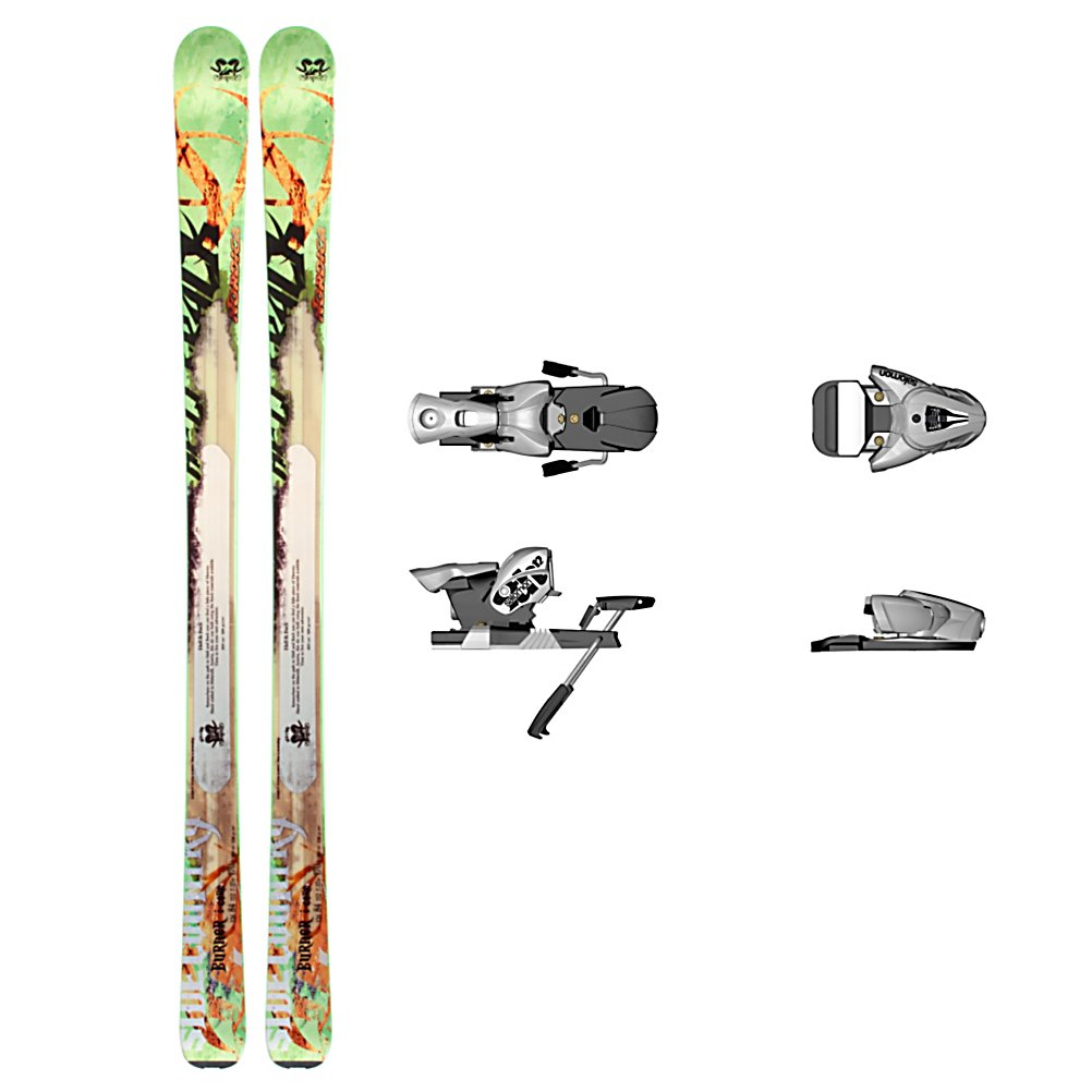 Ski Nordica Burner I-Core Ski Package - The Nordica Burner I-Core Ski Package was created for the expert skier that does battle in soft snow and versatile conditions. The Nordica Burner I-Core Skis perform excellently in both powder and crud but will also hold a solid edge on the groomers. A lightweight construction gives you maximum performance in all conditions you may come across and is made with a full wood core for easier hiking without sacrificing the on snow performance. The Early Rise Camrock gives you traditional contact points to increase floatation and velocity in powder and makes it easy for you to initiate turns. Your Salomon STH 12 OS Bindings is a little bit of a heavy binding but made with unmatched retention and durability. Responsiveness and predictability is what you want when burning down the slopes and the Nordica Burner I-Core Ski Package is the ski and binding combo for the skier that knows what they like and want a high performance piece of equipment to take with them. . Tip/Waist/Tail Widths: 126/84/112mm (@ 170cm), Actual Turn Radius @ Specified Length: 17m (@ 170cm), Type: All-Mountain Skis (75-90), Construction Type: Sidewall, Tail Profile: Flat, Special Features: Early Rise Camrock, Max Din Setting: 4-12, Rocker: Tip Rocker/Camber, Skis:: Nordica Burner I-Core Skis, Binding Weight Range: 165+ lbs., Turn Radius: 16-20, Waist Width: 76-85mm, Ski Bindings:: Salomon STH 12 OS Ski Bindings, Ski Gear Intended Use: All Mountain, Skill Range: Advanced Intermediate - Expert, Product ID: 314088 - $359.95