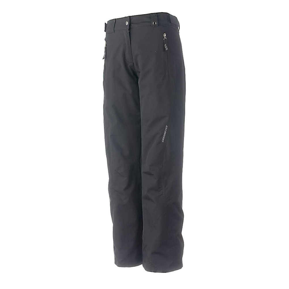 Ski Obermeyer Vail Long Womens Ski Pants - The Obermeyer Vail Womens Long Ski Pants are your classic ski pant that flatters all body shapes. Mix or match your Vail Ski Pants with your favorite Obermeyer Ski Jacket to complete your favorite outerwear ensemble for the winter season. Stay warm, keep dry and protected and look cool on the slopes in The amazing Vail Ski Pants with extra length to reach the needs for those who have a bit more height. Features: Ski Critical, Ski pass/ticket ring, Water-resistant powder cuff with gripper elastic, Zip fly with internal windguard & external stormflap. Exterior Material: Nylon, Insulation Weight: 60g, Taped Seams: Critically Taped, Waterproof Rating: 5,000mm, Breathability Rating: 5,000g, Full Zip Sides: No, Thigh Zip Venting: No, Suspenders: None, Articulated Knee: Yes, Low Rise: No, Warranty: Lifetime, Race: No, Waterproof: Water Resistant (< 5,000mm), Breathability: Low Breathability (< 5,000g), Type: Insulated, Pant Fit: Regular, Lining Material: Taffeta/Nylon, Waist: Beltloops, Model Year: 2013, Product ID: 311739, Model Number: 25133 09 2L, GTIN: 0700599596136 - $89.99