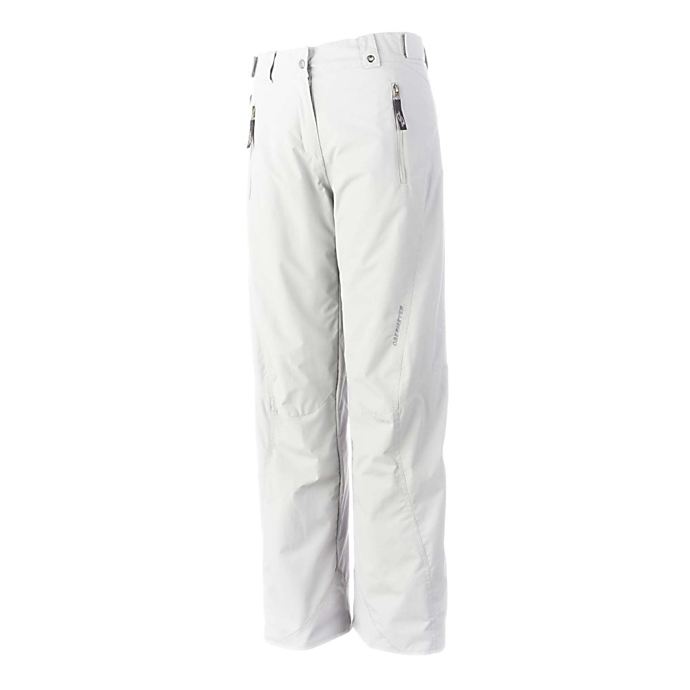 Ski Obermeyer Vail Womens Ski Pants - The Obermeyer Vail Womens Ski Pants are your classic ski pant that flatters all body shapes. Mix or match your Vail Ski Pants with your favorite Obermeyer Ski Jacket to complete your favorite outerwear ensemble for the winter season. Stay warm, keep dry and protected and look cool on the slopes in The amazing Vail Ski Pants. Features: Ski Critical, Ski pass/ticket ring, Water-resistant powder cuff with gripper elastic, Zip fly with internal windguard & external stormflap, Zippered, tricot-lined handwarmer pockets. Full Zip Sides: No, Suspenders: None, Articulated Knee: Yes, Low Rise: No, Warranty: Lifetime, Waist: Beltloops, Model Year: 2013, Product ID: 311744, Model Number: 25133 10 14, GTIN: 0700599596556, Lining Material: Taffeta/Nylon, Pant Fit: Regular, Type: Insulated, Breathability: Low Breathability (< 5,000g), Waterproof: Water Resistant (< 5,000mm), Race: No, Thigh Zip Venting: No, Breathability Rating: 5,000g, Waterproof Rating: 5,000mm, Taped Seams: Critically Taped, Insulation Weight: 60g, Exterior Material: Nylon - $79.95