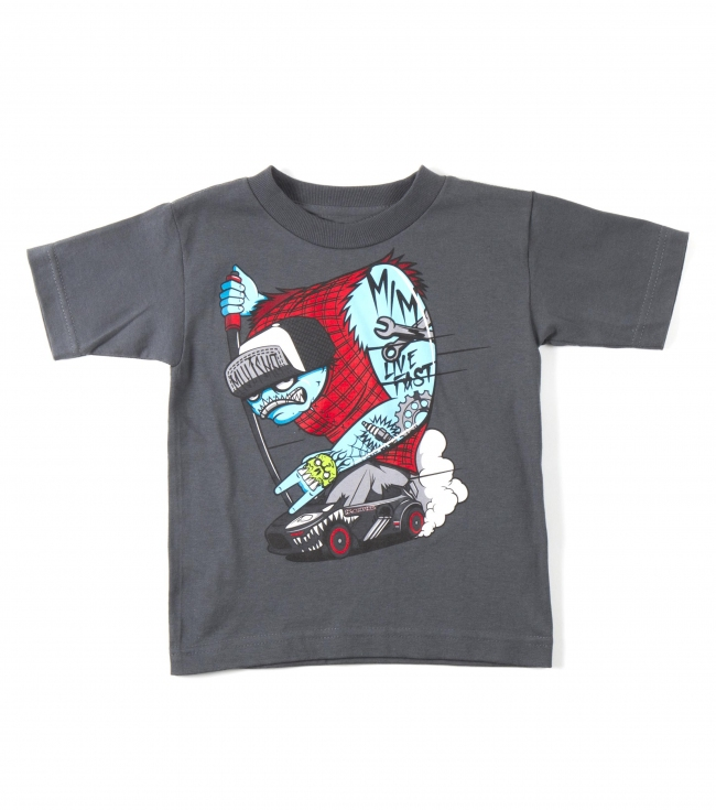 Motorsports Metal Mulisha Toddlers tee.  100% Cotton.  Front screenprint. - $15.00