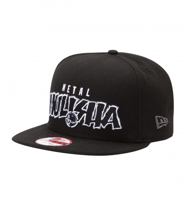 Motorsports Metal Mulisha Mens Hat.  100% Polyester New Era snapback cap with flat embroidery and black and white snapback. - $17.99