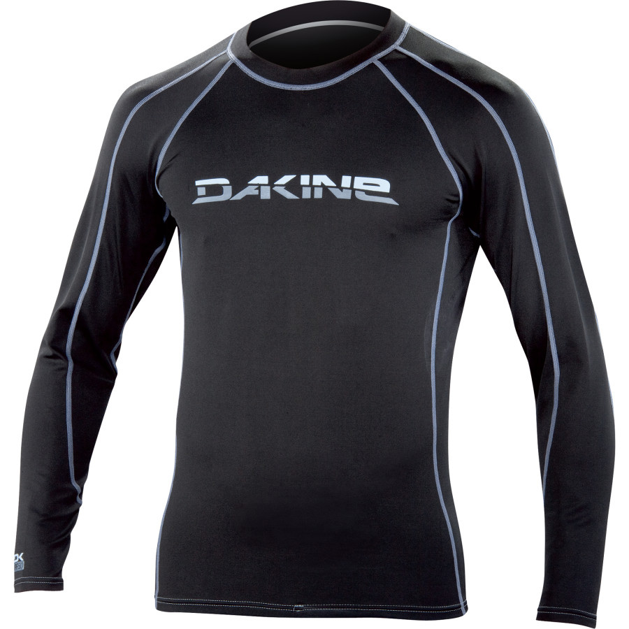 Surf Key Features of the Dakine Polypro Rashguard: 11 oz. Polypropylene for superior insulation Flatlock seams Seamless underarms Use as a layer or by itself UPF 50+ - $64.00