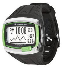Key Features of the Freestyle Tide 4.0 Watch: 50mm Case Tide /Sunrise/Sunset Data For 150 Beaches Worldwide For 10 Years Display Of Present /Future Tide Data (Date , Time , Height) Programmable Beach Capability With 3-Hour Offset Dual Time Zones Optional Big Time With Shark Fin Animation Chronograph Preset Heat Timer : 15,20,25,30,35 Min 2 Alarms Time /Day /Date Stainless Steel Top Plates Nightvision Backlight Display - $69.95