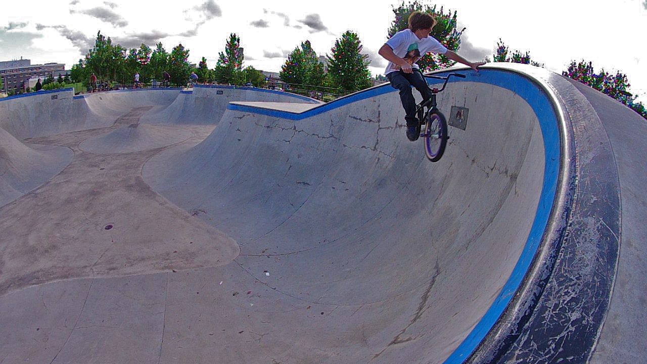 BMX Handplant in Winnipeg MB.