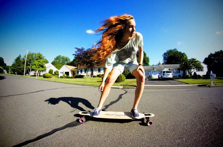 Skateboard Girls On Boards