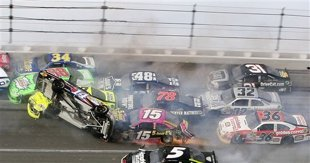 Motorsports Talladega delivers another vicious wreck, pitting driver safety vs. fans' wants