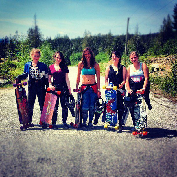 Longboarding Girls On Boards: Any advice for other girls who are thinking of getting into longboarding?  Anna O'Neill: Don't be intimidated! We have an amazing community of longboarders that will always be there to support you and to help you learn! It's a very unique
