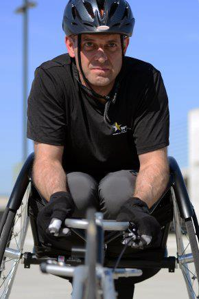 Guns and Military The epitome of resilient: Despite having been diagnosed with secondary progressive multiple sclerosis, Maj. John Arbino has prepared himself to compete in both air rifle and wheelchair racing events during the Warrior Games. http://www.army.mil/article/10
