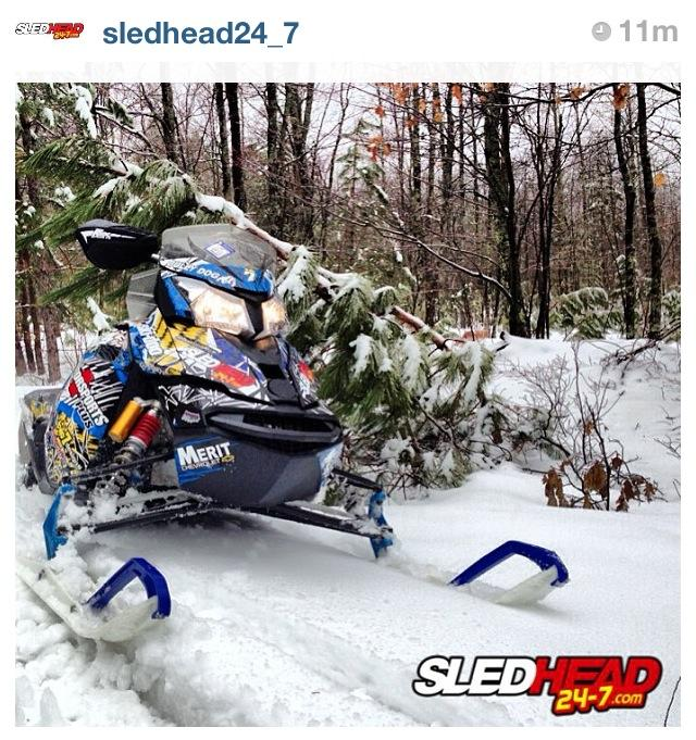 Snowmobile Can you believe it?!  We're still riding in the Midwest!  May 4th!