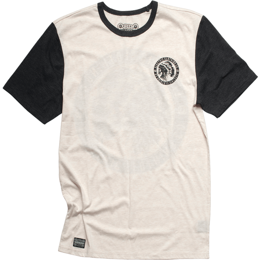 Snowboard The Electric Chief Short Sleeve Crew Tshirt in Black because you're the BOSS. - $28.95