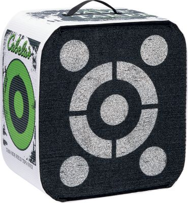 High-performance Game Taker archery targets designed for four-sided shooting. The front and back of these targets have an open-face, layered design that takes the relentless shooting of field tips, broadheads and expandables. Woven polyurethane sides are for field points only. Horizontal layers are great for shooting from the ground, while vertical layers are intended for shooting from treestands. Highly visible aiming points aid in low-light shooting. Sizes ideal for hunting trips. Available sizes: 18-18 x 16 x 11. Weight: 6 lbs. 22-22 x 20 x 11. Weight: 9 lbs. Color: Black. Type: Foam-Block Targets. - $39.99