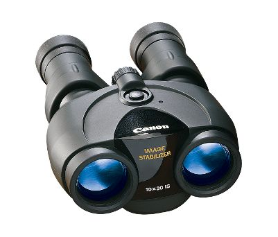 Based on the optical excellence of Canon EF camera lenses, the Image Stabilizer Binocular system virtually eliminates the image shake common with high-magnification binoculars. Even when viewing from a non-stationary object like a vehicle or boat, the image is held crystal clear and steady. Ultra-Low Dispersion Glass minimizes chromatic aberrations for exceptional image quality. Extra-long eye relief enables eyeglass wearers to view the entire field. The 8 x 25 compact model is the world's smallest image-stabilizing binocular. All operate on two AA batteries (8x25 operates on CR123A battery, included), sport a water-resistant rubberized covering and come with a a soft case and carrying strap. - $649.88