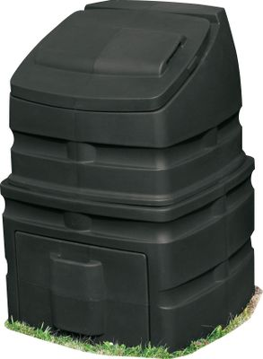 Camp and Hike If you need a large-capacity compost storage bin then the Compost Wizard Standing Bin is a great choice. Its large 12-cu.-ft. capacity is great for large tasks. Simple yet rugged construction for years of use. Friction fit lid and access panel provide easy access. Open bottom promotes a more complete composting process. Made in USA. 37L x 26W x 26H. Wt: 26 lbs. Color: Black. Color: Black. - $139.99