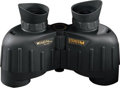 Wider porro-prism binoculars typically require little or no focusing once they're adjusted to a minimum distance of 20-30 yards, but this hinders close-up observation of birds and small animals. These binoculars offer the best of both worlds by boosting depth of field with little adjustment, and providing ability to focus on subjects as close as 4.9 ft. Fully multicoated optics and prisms are housed in sturdy, shockproof, earth-tone rubber armor. 30-year limited warranty. - $259.88