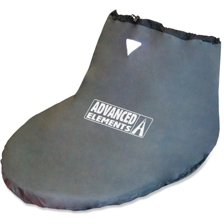 Skateboard A lightweight barrier to keep waves and wind out of your Advanced Elements kayak, the Advanced Elements Packlite spray skirt gets the job done with its tough, no-frills design. - $18.83