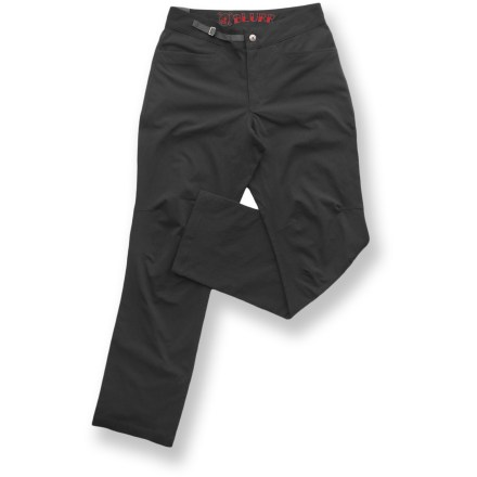 Camp and Hike The blurr Heathen pants feature stretch fabric and can flex to suit those adventurous days that start out at the crag or the trail and end up at your favorite watering hole. Lightweight nylon fabric with a touch of stretch feels soft against skin and dries quickly. Articulated knees ensure freedom of motion and a comfortable fit. Overstock. - $58.73