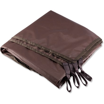 Camp and Hike Use this lightweight nylon footprint under your MSR Fury 2 tent to protect its floor from abrasion and wear. - $36.93