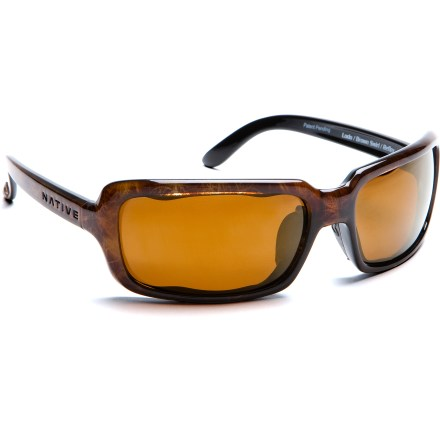 Camp and Hike With a nod to sunny Denver's lower downtown, the Native Lodo Reflex Polarized sunglasses are ready to cut the glare on sun-filled urban adventures, but are equally at home exploring wild locations. - $31.73
