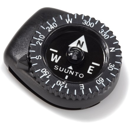 Camp and Hike Keep your compass as close as your wrist with the Suunto Clipper L-B NH compass. Just clip it on your watchband for quick, easily-accessible navigation. - $19.95