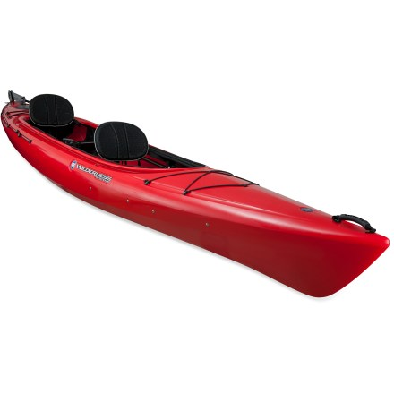 Kayak and Canoe Featuring a swift, stable hull, the Wilderness Systems Pamlico 145T tandem kayak with rudder covers distance with ease. - $1,030.93