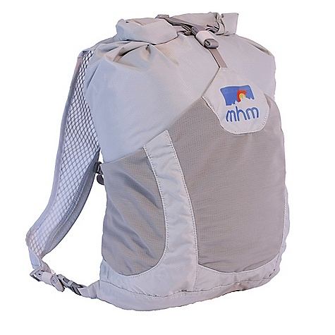 Climbing Free Shipping. MHM Champ 24L Approach Pack DECENT FEATURES of Mile High Mountaineering Champ 24L Approach Pack Ultralight Comfortably carries 15-20 lbs Fully seam taped Waterproof Large external stuff pocket and a roll-top closure Stowable into its own pocket The SPECS Volume: 24 liters Weight: 9 oz Material: Seam taped 100 denier Invista CORDURA, Nylon 6.6, 80g PU/DWR - $78.95