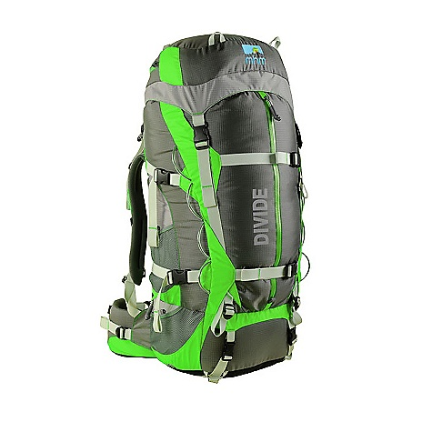 Free Shipping. MHM Divide 55L Pack DECENT FEATURES of the Mile High Mountaineering Divide 55L Pack sYnc A.C. suspension Air Channeled mesh backpanel Slide n' lock adjustable harness variCant dualpivoting/fully adjustable hipbelt Backhugger ICS QuickStuff Pack Sack Integrated Packslicker rainfly Deployable accessory pocket Top and front panel access External compression straps Easy access hydration sleeve under the top lid 8 gear loops 10 pockets + main compartment Quickclip accessory clips 2 adjustable ice axe loops The SPECS Volume: 55+10 liters Weight: 4 lbs 9oz Fits Torso: 17-22 in. Number of Stays: 2 Main Pack fabric: 315 denier ripstop Invista CORDURA Plus, Nylon 6.6, 80g PU/DWR Bottom Fabric: 840 denier Invista CORDURA HD, Nylon 6.6, 80g PU/DWR POP color: 210 denier mini diamond, Nylon 6.0, 40g PU/DWR Frame Material: 3mm x 20mm & 3mm x 25mm 6061 tempered aluminum stays and 1.5mm HDPE framesheet - $338.95
