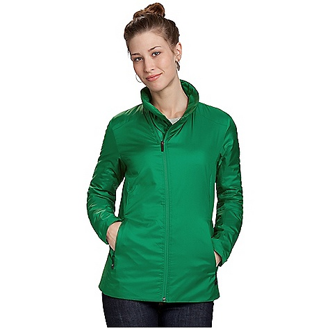 Free Shipping. Nau Women's Synfill Sweater DECENT FEATURES of Nau Women's Synfill Sweater Insulation: 60 gm recycled polyester with Cocona technology for quick-dry and odor management Teijin fabric is recycled and recyclable Offset reverse coil DWR front zip with wind flap for increased neck protection Two front zip hand pockets One zip internal pocket Internal elastic cuffs The SPECS Shell and lining: 100% recycled polyester micro ripstop Insulation: lightweight 60 gram recycled polyester fiberfill Fit: Regular Weight: 11.2 oz. Machine wash cold - $199.95
