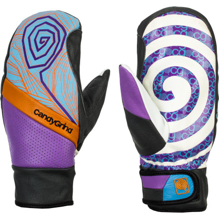 The CandyGrind Park Mitten contains a surprising amount of shred-ready tech in its low-profile design. A Hipora waterproof and breathable insert keeps your hands dry even after taking a few diggers into the slush, while the grippy palm lets you tweak out big ol' grassers without losing your grip. - $69.95
