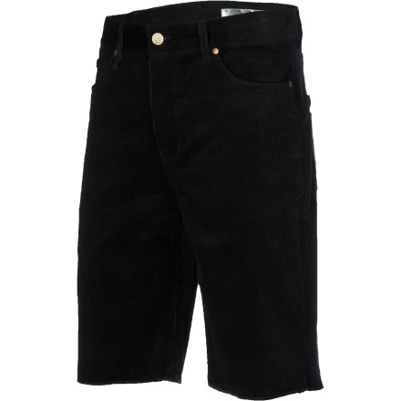 Skateboard Perfect your drifter look with the slim-fitting Gnarly Vagabond Men's Cord Short as you travel from city to city in search of new skate spots, music, or whatever it is you're looking for. - $25.98