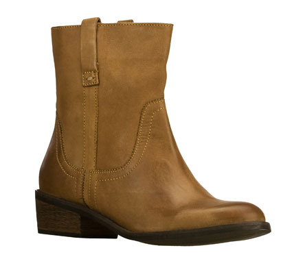 Your favorite versatile boot looks start with the SKECHERS Natives boot.  Smooth leather upper in a slip on casual dress ankle height western-style boot with stitching and overlay accents. - $99.00