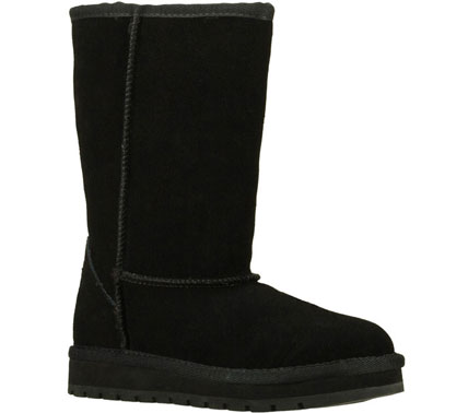 Warm feeling and cool style meet in the SKECHERS Blizzards-Primate boot. - $55.00
