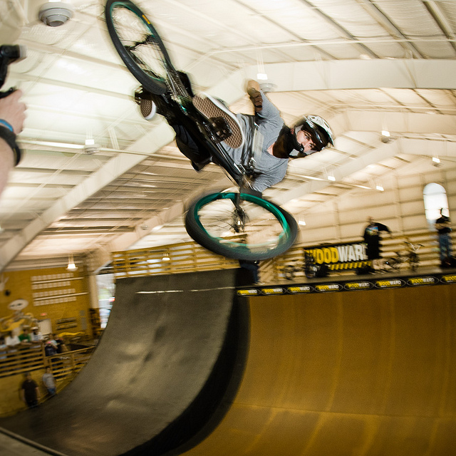 BMX Coco Zurita at Old School BMX Reunion