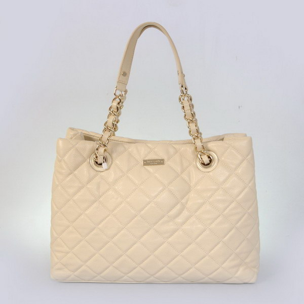 Entertainment Kate Spade New York Gold Coast MaryAnne Quilted Shoulder Bag Beige - katespadeoutletbags.com