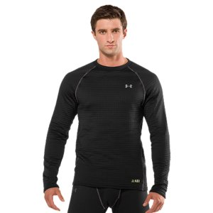 Fitness WHY WE MADE IT:  UA Base(TM) is a total overhaul of sweat-soaked, old-school long underwear. We improved its traditional waffle pattern-and supercharged it. The result is our sweat-wicking baselayer line-up that steps up the heat as the outside temps drop. UA Base(TM) 1.0 is light, early season cold protection for high activity levels. Our most versatile baselayer, UA Base(TM) 2.0 puts a lot more cold-weather days in play. Choose UA Base(TM) 3.0 when it gets really cold and you need to trap every last bit of your own heat. For times when you question the sanity of even being outdoors, UA Base(TM) 4.0 is going to keep you warm-period. When the rest of the world's inside, we know what drives athletes out into the cold. We've got your back. The Men's UA Base(TM) 4.0 Crew was built to battle nature's coldest and most brutal conditions. Its patented mega-grid fleece fabric traps heat to keep you ridiculously warm without feeling weighed down. It wicks away excess moisture in its unique grid channels-keeping you dry and comfortable no matter how hard you work. You can also move with unrestricted ease thanks to UA's super-stretchy fabrication. Facing insane temperatures? Get the performance crew that makes more sense-and delivers more warmth-than anything else out there. UA Base(TM) 4.0 delivers heat like no other, keeping you warm even in the brutal coldSignature grid channels trap heat while providing extreme moisture transport-keeping you dry and light in the coldest conditions4-way stretch construction improves range of motion and dries fasterSoft, moisture-wicking interior regulates your core temp, keeping you dry and comfortableAnti-odor technology prevents the growth of odor-causing microbes to keep your crew fresher, longerSmooth flatlock seams and raglan sleeves prevent chafing7.5 oz. Polyester/ElastaneImported - $44.99