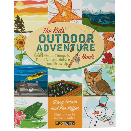 Hunting The Kids Outdoor Adventure Book is a year-round activity guide for getting kids outside to explore and have fun in the natural world. - $8.93