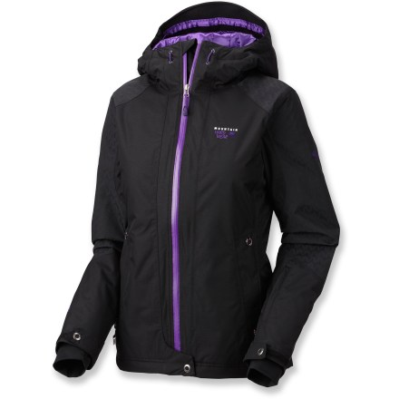 Ski Picking up a stylish, warm jacket like the Mountain Hardwear Turnagain is always in season. Its waterproof protection and warm synthetic insulation keep you cozy on the slopes or under the stars. - $69.73