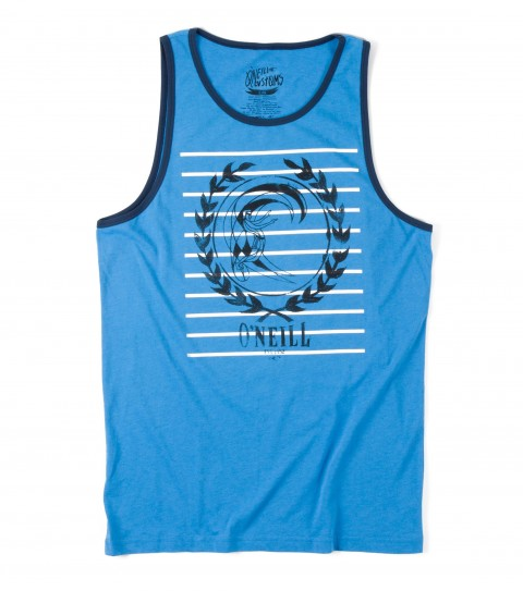Surf O'Neill Intention Tank.  50% Cotton / 50% Poly.  30 singles classic fit tank with softhand screenprint. - $14.99