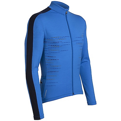 Fitness Free Shipping. Icebreaker Men's LS Circuit Jersey DECENT FEATURES of the Icebreaker Men's Long Sleeve Circuit Jersey Fast and functional cycling jersey GT 260 front for cooler rides Tested, highly-functional 3-panel pocket MP3 tunes accessed via cord loophole Reflective piping for visibility - $169.95