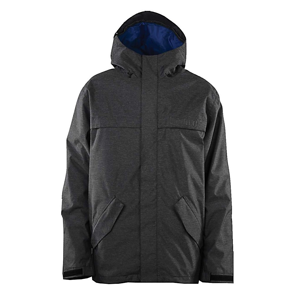 Snowboard ThirtyTwo Sonora Mens Shell Snowboard Jacket - The Thirty Two Sonora Mens Shell Snowboard Jacket is a simple design with a refined styling for the grown man in all of us, although it's still about the youthful trill we are after. The ThirtyTwo Sonora Jacket features a simple, stripped-down exterior and all the tech you need to stay warm, dry, and stoked all season. Layer the Sonora up or down to match the changing weather conditions. The 10K-rated membrane is waterproof and breathable enough to handle everything from mid-winter blizzards to spring kicker sessions. Features: Removable Powder Skirt, Pass Pocket, Hem Cinch, Storage Pockets. Exterior Material: Nylon/Polyester, Insulation Weight: N/A, Taped Seams: Fully Taped, Waterproof Rating: 10,000mm, Breathability Rating: 10,000g, Hood Type: Fixed, Pit Zip Venting: Yes, Powder Skirt: Yes, Warranty: Other, Battery Heated: No, Race: No, Type: Shell, Jacket Fit: Regular, Length: Medium, Insulation Type: None (Shell), Waterproof: Mild Waterproofing (5,001 - 10,000mm), Breathability: Mild Breathability (5,001 - 10,000g), Cuff Type: Velcro, Wrist Gaiter: Yes, Waterproof Zippers: No, Cinch Cord Bottom: Yes, Model Year: 2013, Product ID: 313509, Shipping Restriction: This item is not available for shipment outside of the United States., Model Number: 8130000520 524 S, GTIN: 0885075406380 - $69.93