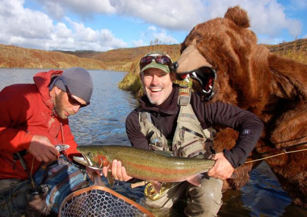 Flyfishing Best Pranks to Pull Off While Fishing.  Article by Kirk Deeter