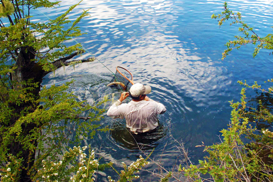 "Flyfishing Do You Ever Go ""Swim-Fishing?""  Article by Kirk Deeter"