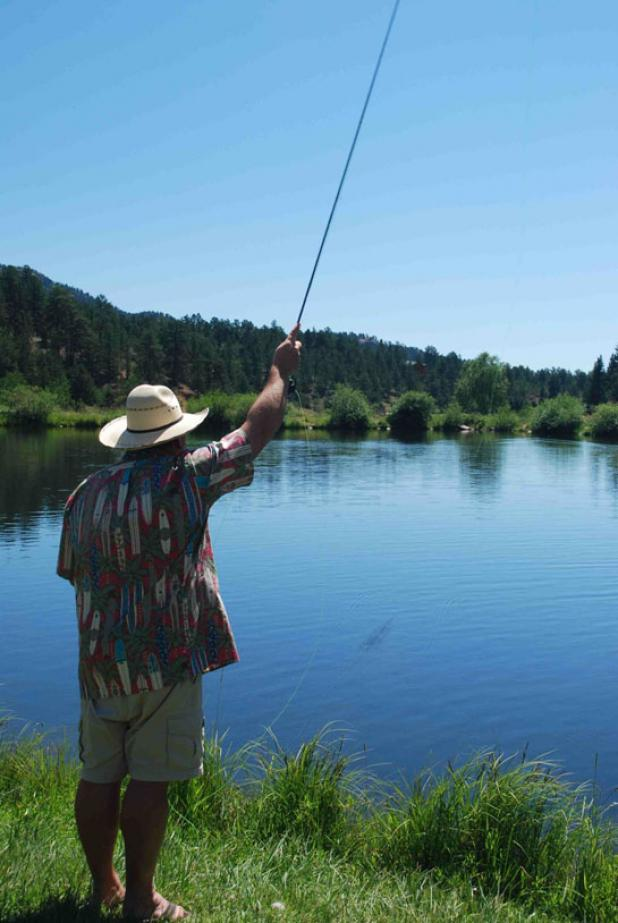 Flyfishing Fly Fishing Tip: Practice on Flat Water to Perfect Your Cast.  Article by Kirk Deeter