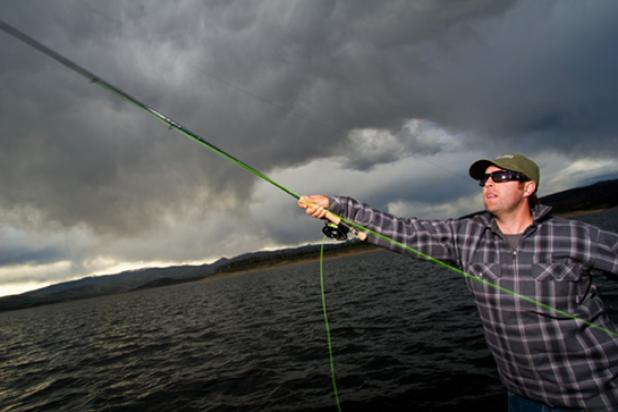 Flyfishing Giant Lake Trout on the Fly?  Article by Tim Romano